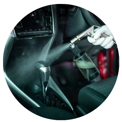 Vehicles sanitized